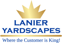 Lanier Yardscapes Where the customer is king. logo